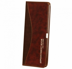 Daniel Stone Burgundy-Brown Leather Appointment Book AB202