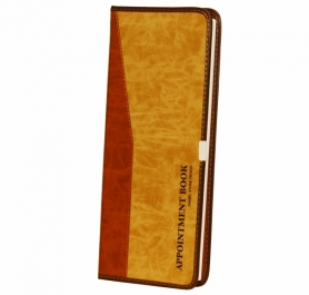 Daniel Stone Beige-Tan Leather Appointment Book 200pgs AB212