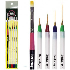 Berkeley 5 Style Nail Art Brush Set AB525