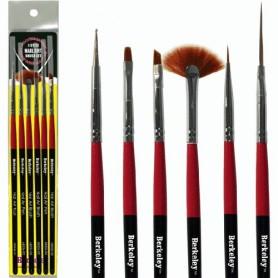 Berkeley 6 Style Nail Art Brush Set AB526