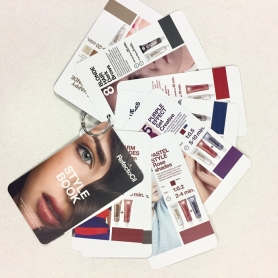 RefectoCil Brow Trend Swatch Booklet On A Keyring - RC 7831