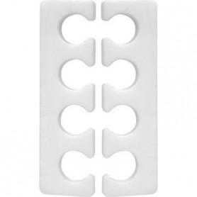 Ikonna Finger & Toe Separators - White 120pairs #TS-W1