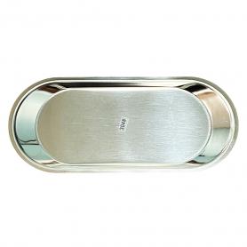 """Salonnex Stainless Steel Utility Tray 4""""x9.15""""x0.5"""" SNUT20"""