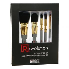 Revolution 5PC Full Face Make Up Brush Kit BX-SET5 38252