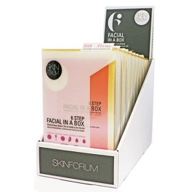 SKINFORUM 6 Step Facial In A Box (Lift+Firm) Display