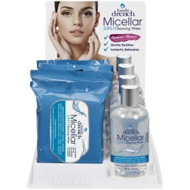 Bodydrench Micellar 3-IN-1 Cleansing Water 8 pcs Display