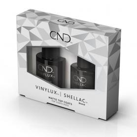 CND Vinylux & Shellac Matte Top Coat Duo Pack 92651