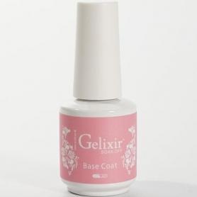 Gelixir Soak Off Gel UV/LED Base Coat 0.5 fl oz/15ml - 02109