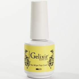 Gelixir Soak Off Gel UV/LED Top Coat 0.5 fl oz/15ml - 02110