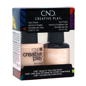 CND Creative Play GelColor/Nail Lacquer Duo, Life's A Cupcake #40292540