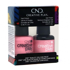 CND Creative Play GelColor/Nail Lacquer Duo, Bubba Glam #40392541