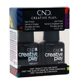 CND Creative Play GelColor/Nail Lacquer Duo, Black + Forth #45192550