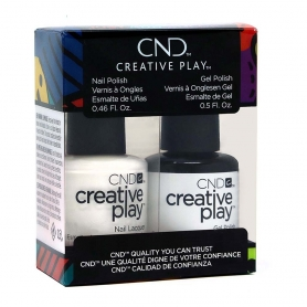 CND Creative Play GelColor/Nail Lacquer Duo, Blanked Out #45292551