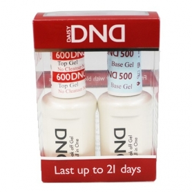 Daisy DND600 Top & DND500 Base Soak Off Gel Set