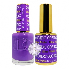 Daisy Soak Off Gel - Blue Violet - DC003