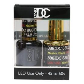 Daisy Soak Off Gel UV LED Master Black DC888