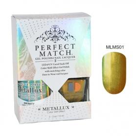 Perfect Match Metallux Set LED/UV Infinity #MLMS01
