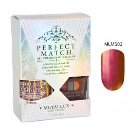 Perfect Match Metallux Set LED/UV Eternal #MLMS02