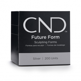 CND FUTURE FORM Sculpting Forms Silver 200 ct 00888