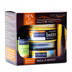 Cuccio Spa To Go Soothing&Moisturizing Milk & Honey Kit 3200