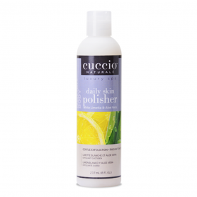 Cuccio Daily Skin Polisher 8 oz White Limetta & Aloe 3336-C