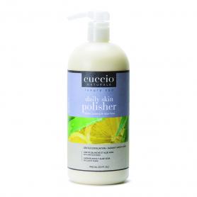 Cuccio Daily Skin Polisher 32 oz White Limetta & Aloe 3398-C