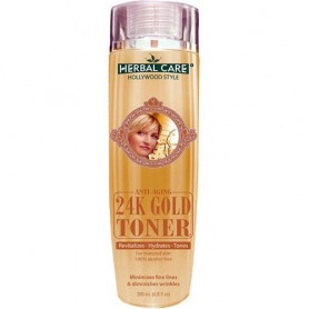 Hollywood Style Herbal Anti-Aging 24 Gold Toner 50203