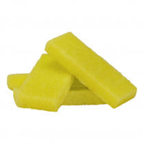 Cre8tion Mini Disp. Buffing Pad (Pumice) Medium Yellow 28002
