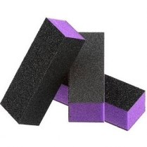 Dixon 3-Way Buffers Purple Black Grit 60/100 - 500pcs/case