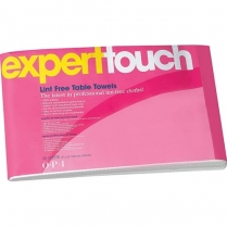 """OPI Expert Touch Table Towels 10"""" x 16"""" - 45 Sheets - AC 875"""