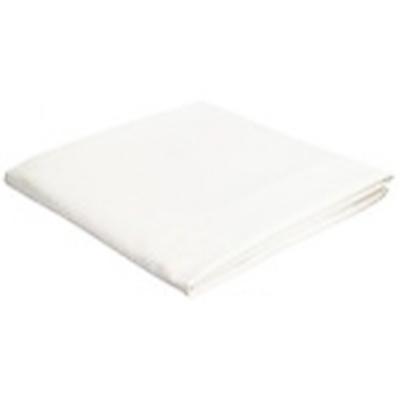 "Epilsure Premium Cotton Poly 60/40 Flat Sheet 48""x95"" 10001"