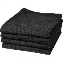 """Dannyco Cotton Towels Deluxe 16""""x27"""" 1Dozen - Black #10004"""
