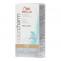 Wella Color Charm Hair Toner T15 P. Beige Blonde 1.4oz 06688