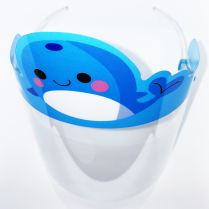 Child Face Shield With Character Banner 10433