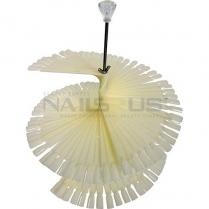 Chart Fan 120pcs/Set Umbrella Nail Art Display PDB-U12N