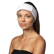 Dannyco Terry Cloth Headband White - HB-100C 37019