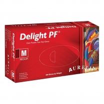 Aurelia Delight PF Vinyl Powder-Free Gloves 100PK MED 38227