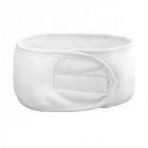 Silk B Terry Head Band White - 26009