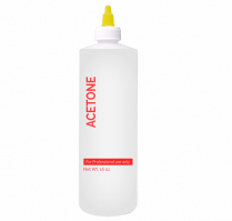 Cre8tion Labeled Plastic Bottle 16 oz Acetone 26086
