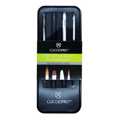 CuccioPRO Premium Acrylic Master Brush Kit CP15357/85357