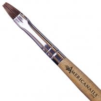 Americanails Flat Sable Acrylic Brush - NC0018