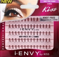 I.Envy By Kiss Knot Free Combo 70 Individual Lashes - KPE06
