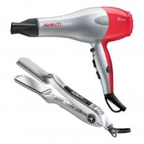 Avanti Styling Duo Ceramic Hairdryer & Flat Iron AVCOMBOPPC