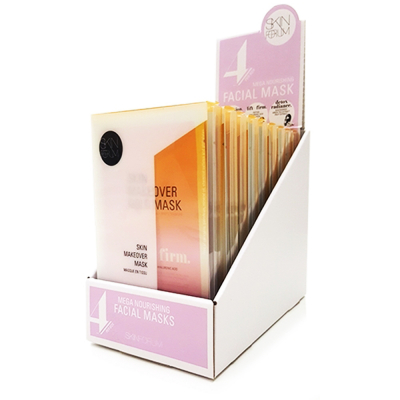 SKINFORUM Skin Makeover Mask-4 Stes (Lift+Firm) Display