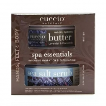 Cuccio Spa Essentials Kits Lavender & Chamomile CNMK7034