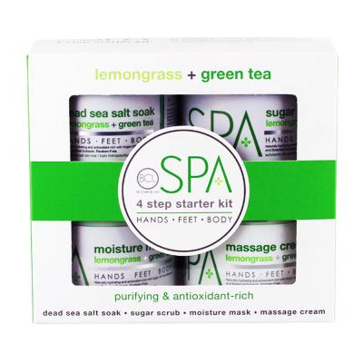 BCL Spa 4 Step Starter Kit Lemongrass+Green Tea SPA51110