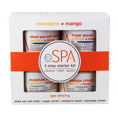 BCL Spa 4 Step Starter Kit Mandarin + Mango SPA52110