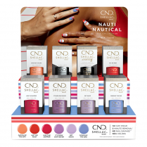 CND Shellac Nauti Nautical 16 pcs Display 00639