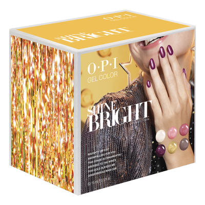 OPI Gelcolor Shine Bright 6Pcs Add-On Kit #1 HPM18