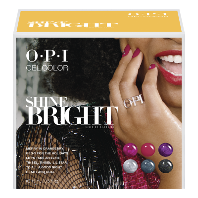 OPI Gelcolor Shine Bright 6Pcs Add-On Kit #2 HPM19